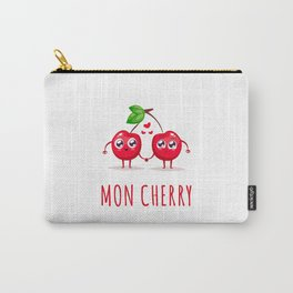 Mon Cherry Carry-All Pouch