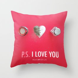 P.S. I Love You Throw Pillow