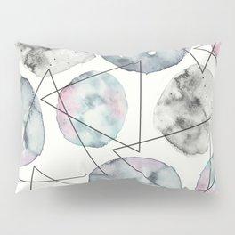 Orbiting Asteroid Pattern Pillow Sham