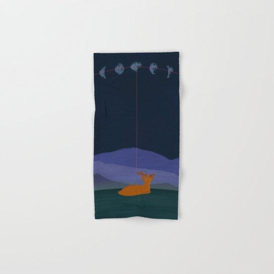 Lunatic Deer Hand & Bath Towel