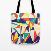 games Tote Bags featuring Love Games by Anai Greog