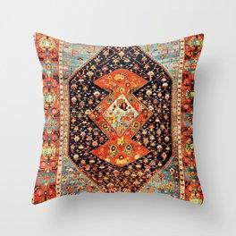 Bakshaish Antique Persian Carpet Print Throw Pillow