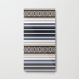 American Native Pattern No. 150 Metal Print