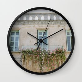 Church of Saint Anne's Gardens - Holy Land Fine Art Photography Wall Clock