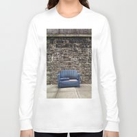 sofa Long Sleeve T-shirts featuring sofa free by danielle marie