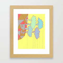 Cloud Factory Framed Art Print