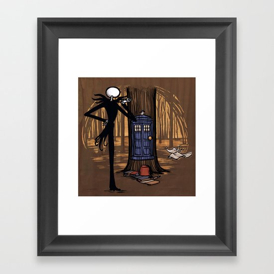 What's This? What's This? Framed Art Print