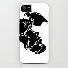 Pangaea Continent iPhone Case