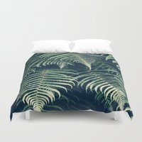 fern Duvet Covers featuring Fern by Rupert & Company