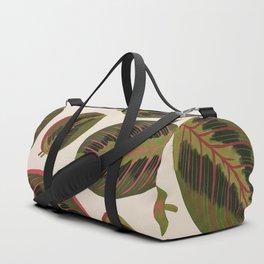 Maranta leaves Duffle Bag