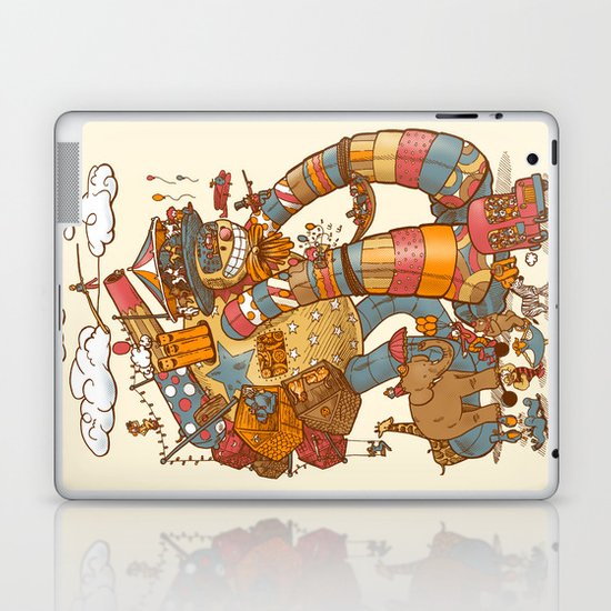 Circusbot Laptop & iPad Skin