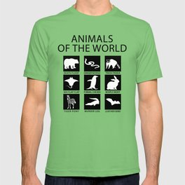 RARE ANIMALS OF THE WORLD T-shirt