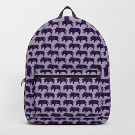 Do You Want to Play? - Origami Purple Bull Backpack