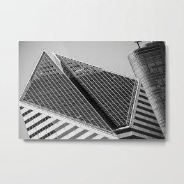 150 Michigan Ave. Metal Print