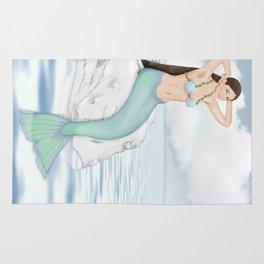 Seaside Mermaid Rug