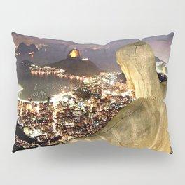 Christ the Redeemer ✝ Statue  Pillow Sham