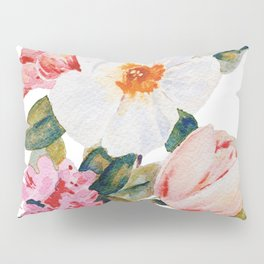 Loose Spring Bouquet Pillow Sham
