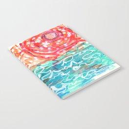 Blazing Blue Water Notebook