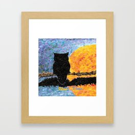"""""""Hoo Time"""" Framed Art Print"""