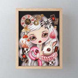 Through Her Eyes Framed Mini Art Print