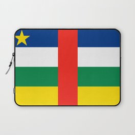 Flag of the Central African Republic Laptop Sleeve