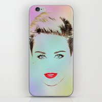 miley iPhone & iPod Skins featuring Miley by RSG514