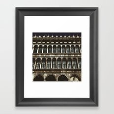 Facade on Piazza San Marco Framed Art Print