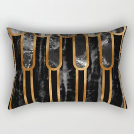 Ancient Egyptian Inspired Pattern Rectangular Pillow