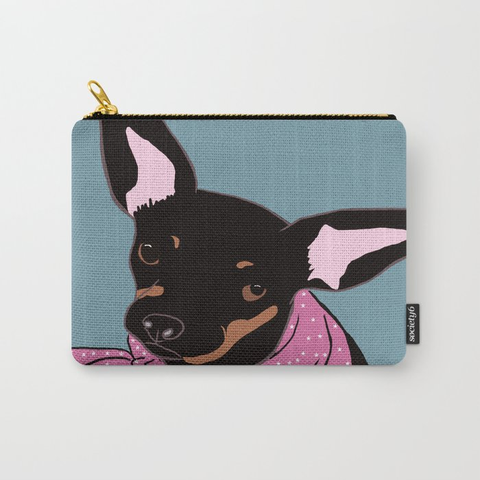 Sweet Chihuahua Carry-All Pouch