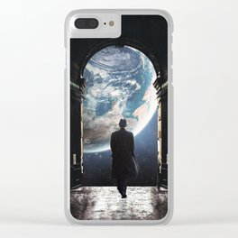 Exit Clear iPhone Case