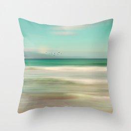 OCEAN DREAM IV-A Throw Pillow