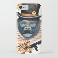gangster iPhone & iPod Cases featuring Gangster by dogooder