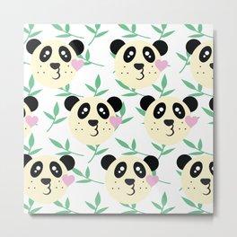 WWF Panda Donations Metal Print