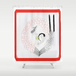 Ethernal Catharsis Shower Curtain