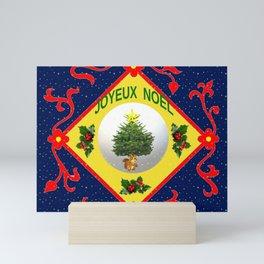 Joyeux Noël Mini Art Print