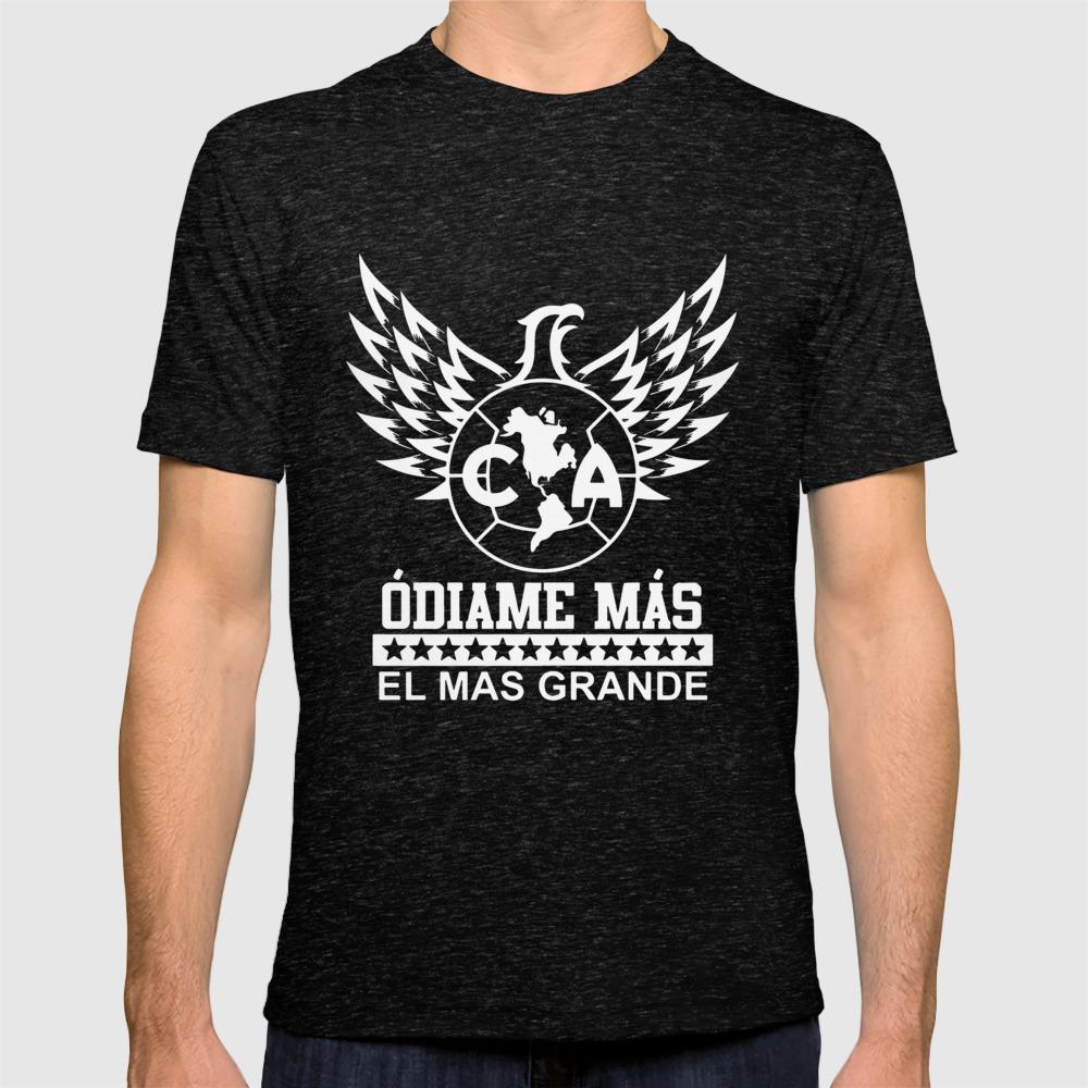 159a38bfe9c Club America Mexico Aguilas Camiseta Jersey Odiame Mas El Mas Mexico T-Shirts  T-shirt