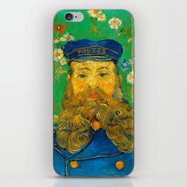 Vincent van Gogh - Portrait of Postman iPhone Skin