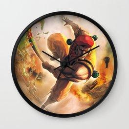 Rolento Wall Clock