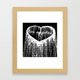 I Heart L.A. Framed Art Print