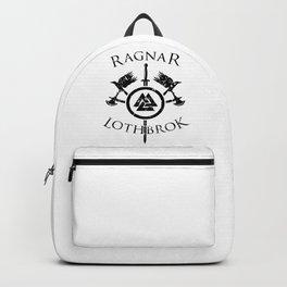 Ragnar Lothbrok | Viking Valhalla Norge Mythology Backpack