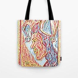 Jester Profile Tote Bag