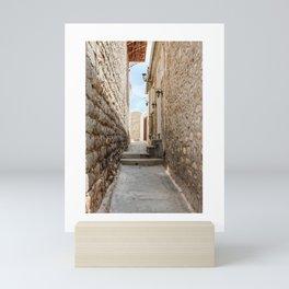 The Way to Greece III Mini Art Print