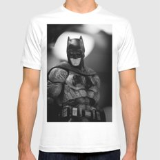Tell me. Do you bleed? White Mens Fitted Tee MEDIUM