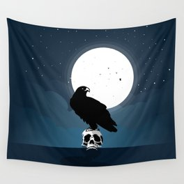Raven Wall Tapestry