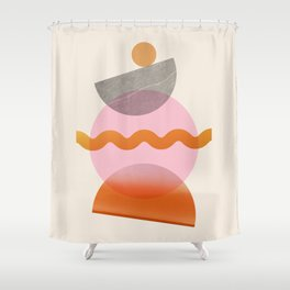 Abstraction_SHAPE_Playful_Minimalism_003 Shower Curtain