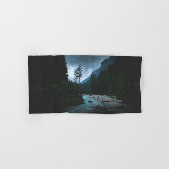 Landscape Mood #creek Hand & Bath Towel