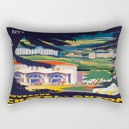 Vintage poster - Auvergne Rectangular Pillow