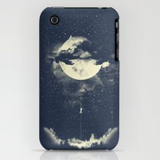 MOON CLIMBING iPhone (3g, 3gs) Slim Case