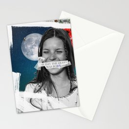 .The Day the Queen Was Born | Kate Moss. Stationery Cards
