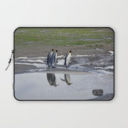 More King Penguin Reflections Laptop Sleeve